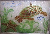 Seaglass art