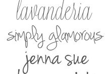 Tatto and fonts