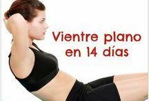 ejercicio para vientre plano
