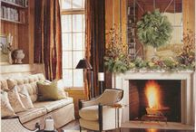 Fireplaces / by Kathy White