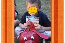 Halloween- pumpkin storybook / by Monica Fernandez