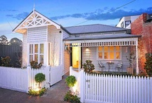 Weatherboard Houses / The insides and outsides of weatherboard houses, my dream houses!