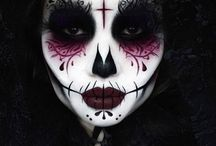 Totenkopf Make-up