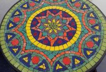 mesas mosaicos