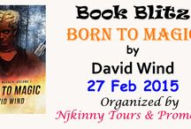 Book Blitz: Born To Magic by David Wind {27 Feb}