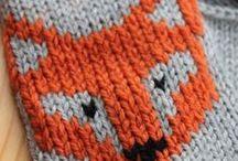 Brodere mønster på strikketøy