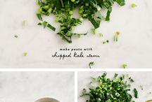 Pesto en chutney