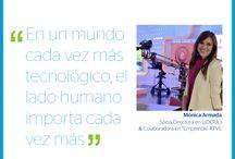 Event Quotes / Citas recogidas en los eventos celebrados en los Centros de Innovación BBVA en Madrid, Bogotá y Méxido DF