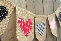 Bunting - burlap / by Penny D