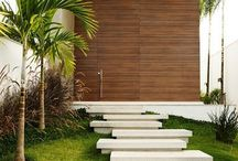 extrior stairs modern