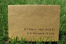 l-o-v-e, love