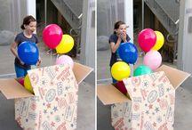 сюрпризы на день рождения!!!)