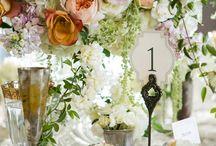 TABLE SETTINGS / Table decorations, settings