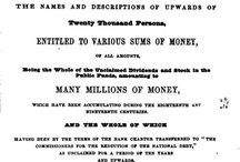 Money Matters and Banking / #genealogy