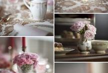 Pretty table/tea decor