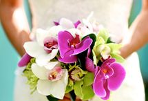 Tropical style bouquets