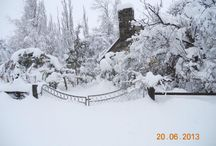 Winter in Central Otago / Central Otago has a fabulous climate.  It is truely the land of four seasons.