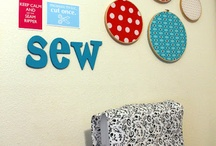 Sewing Room Organization / by Heather Lovell