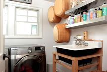 LAUNDRY ROOM IDEAS / by WEST FURNITURE REVIVAL