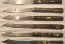 tavola -kozuka as table knife / japanese influence in cutlery and flatware