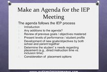 IEPs easy as 1, 2, 3 / IDEA, FAPE, inclusive education, accomodations, sensory tool kit, positive reinforcement, visual schedules  / by Lisbeth Little
