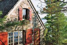 Houses, homes, interior, exterior design, garden