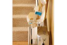 Sillas y plataformas salvaescaleras / SCI Geriatría dispone de sillas salvaescaleras, perfectas para facilitar a personas con movilidad reducida la dura tarea que supone subir unas simples escaleras. http://www.sci-geriatria.com/lineas/catalogo/salvaescaleras/