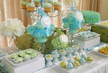 Desert table for baptism