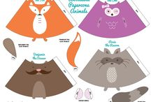 Homeschool: Woodland Creatures / If you're learning about the animals of the woodlands and forest, look no further. All the printables, crafts, activities, recipes and MORE you need to make a FUN unit!