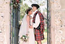 Outlander Theme Wedding