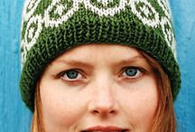knitting hat-scarf