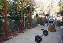 gym / outdoor gym ideas