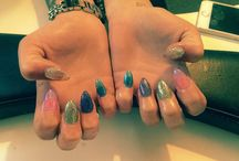 acrylics / nails