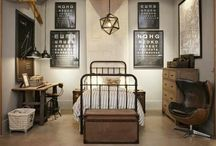 Boy Rooms / by Stacey Cox