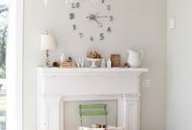 Living Spaces / Living rooms, sitting room, family room, open plan living, home decor, white living room, white decor
