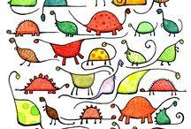 Garabatos, doodle