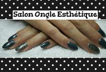 Gel nails by salon ongle esthétique