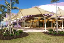 Custom Shade Structures / Unique architectural designs for shading outdoor spaces!
