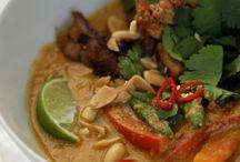 Thai food, my favorite!