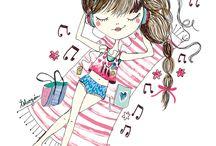 dibujos para niñas