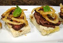 Steak Starters / Appetizers and finger foods featuring steak as the star ingredient.