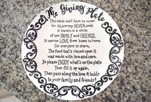 giving plate template / Thanksgiving