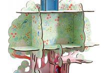 Sur les murs des chambres d'enfant / Décoration de chambre d'enfants