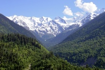 Mountain Motivation - Mountains I want hike or have hiked