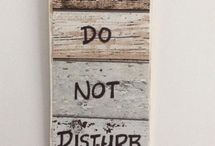 Hotel Motel, B & B, Air B & B or Resort Accommodation Room Occupied Please Do Not Disturb Signs