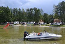 Camping Giżycko / Camping Giżycko - Camping Echo - pole namiotowe nad jeziorem Niegocin na Mazurach z widokiem na Giżycko w Polsce. http://www.campingecho.pl