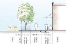 walking boulevard plan