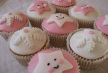 Baby cupcakes-biscuits