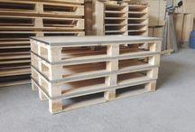 Palet, Europalet / Palet genel olarak ahşap sandıklar için taban ağırlık taşıma ürünüdür. Standart ölçü ve özelliklerdeki ihracata uygun Europalet kullanılabileceği gibi özel ölçü ve istekleri karşılayabilen paletlerde üretilip kullanılabilmektedir.
