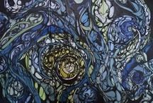 Dinah Langsjoen Artworks / by D Rex